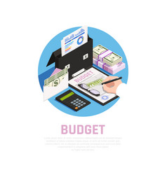 Accounting budget isomeric composition vector