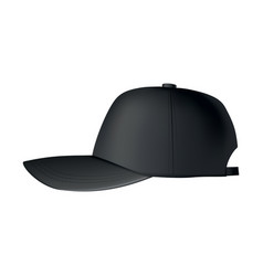 baseball cap realistic baseball cap template vector image