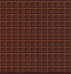 Chocolate seamless milk handmade bio food vector