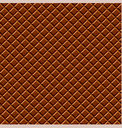Dark chocolate seamless pattern sweet texture vector