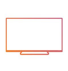 Isolated orange to pink gradient borderless vector
