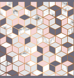 Marble texture seamless pattern design vector