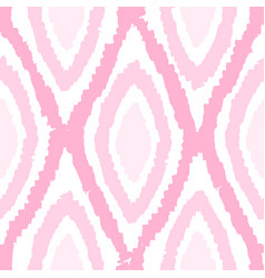 pink monochrome rhombus seamless pattern vector image