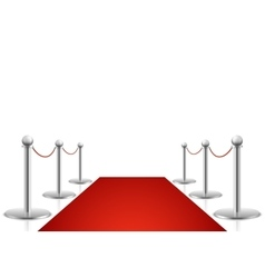 Red carpet Awards show vector image