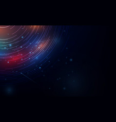 vivid abstract background beautiful design vector image
