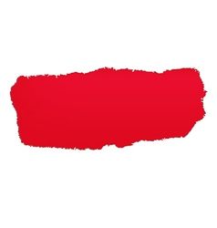 Red Paper Hole vector image vector image