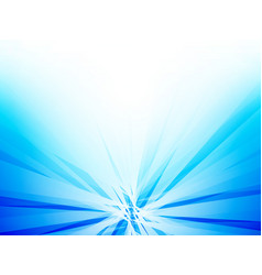abstract rays blue background vector image