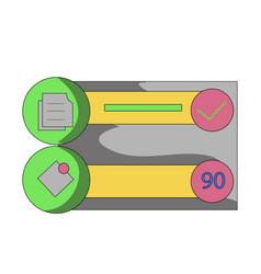 finish task clip art clip art vector image
