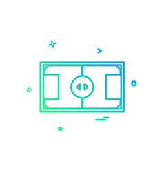 ground icon design vector image