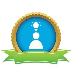 Idea certificate icon 1 vector