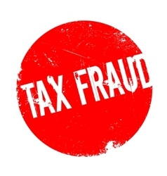 Tax Fraud rubber stamp vector