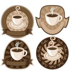 tea or coffee vector image vector image