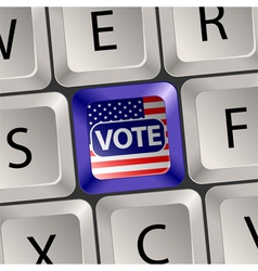 Vote Concept vector image