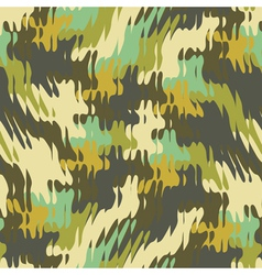refracted camouflage print vector image vector image