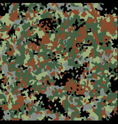 flectarn camouflage seamless patterns vector image vector image