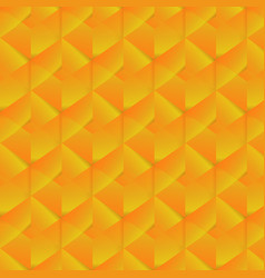 Geometric pattern with orange rectangles vector