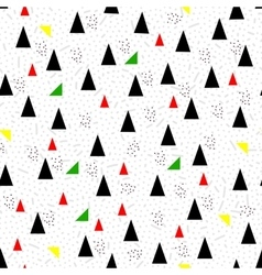 geometric triangles seamless vector image