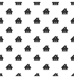 House pattern simple style vector