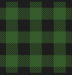 lumberjack plaid pattern seamless background vector image