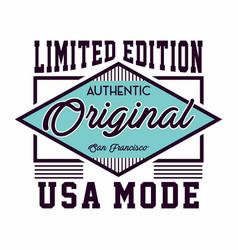 Original usa mode vector