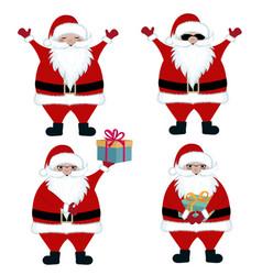 santa collection vector image