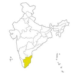 Tamil nadu vector