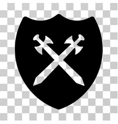 security shield icon vector image