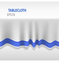 3d Seamless Tablecloth vector image