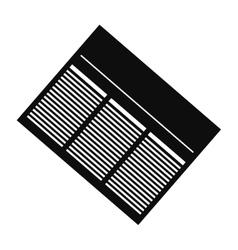 Newspaper info article vector image