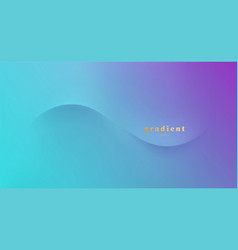 Abstract purple and blue colorful vector