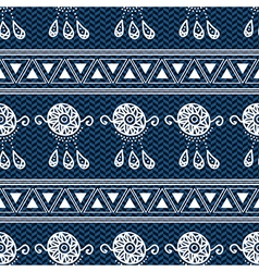 Blue Dream Catcher Background vector
