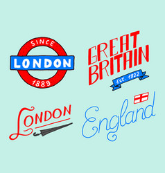 british crown and queen london and the gentlemen vector image