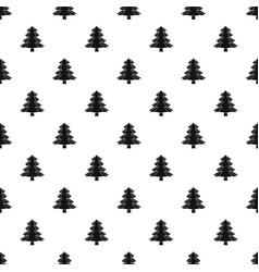 Fir tree pattern vector