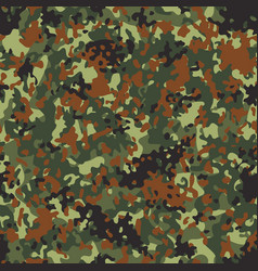 Flectarn camouflage seamless patterns vector