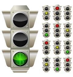 Forex lights 2 vector