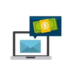 Mail marketing design vector