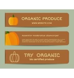 Summerm autumn Farm Fresh branding identity vector image