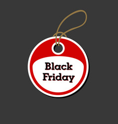 ticket for black friday vector image