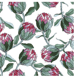 Tropical floral for fashion fabric surface and vector