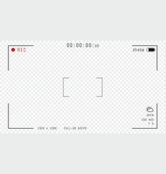 Video camera overlay vector