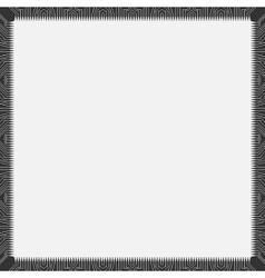 Circuit board frame vector image vector image
