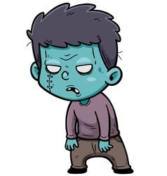Zombie vector image vector image