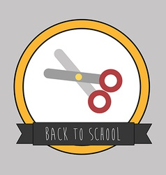 Backto school design vector