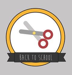 backto school design vector image