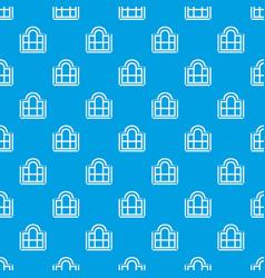 Beautiful window frame pattern seamless vector