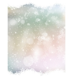 Blue background with snowflakes EPS 10 vector