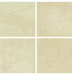 four pastel vintage backgrounds vector image