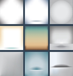 Many Backgrounds vector