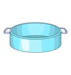 Pan icon cartoon style vector