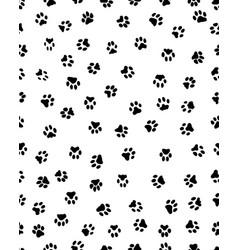 Prints dog paw vector